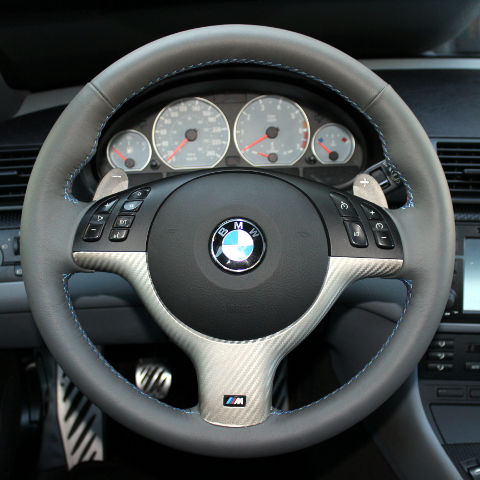 e46 m sport smg leather steering wheel