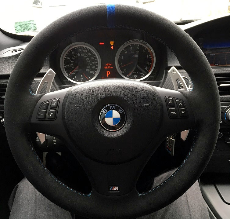 E82 DCT Thick M Sport Steering Wheel