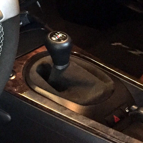 z4 e85 manual shift boot