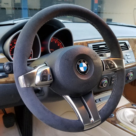 z4 e85 regular sport steering wheel