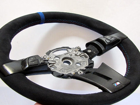 z4 e85 thick m steering wheel